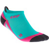 cep No Show Hardloopsokken Dames roze/turquoise